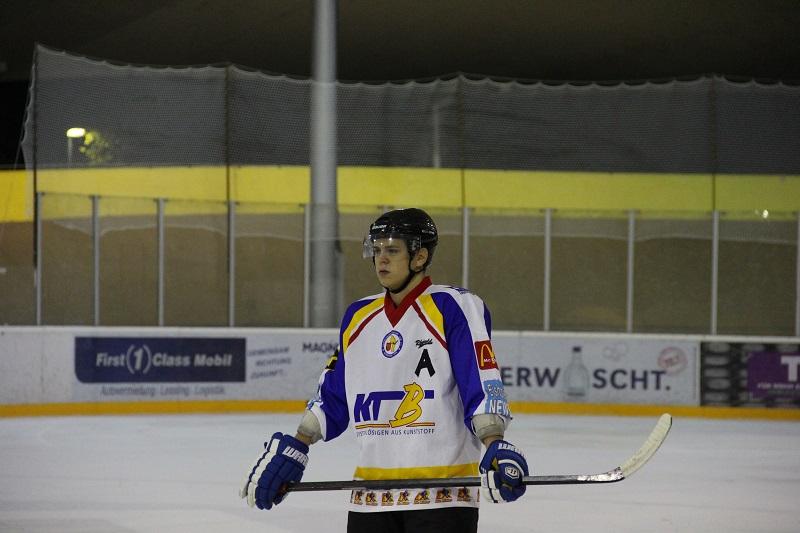 Topscorer der Partie - Dennis Spanke. Foto: Olaf Schweizer